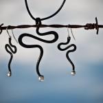 Järn och silver smycken Från Eva Melin