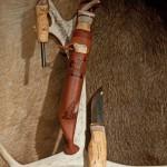 Kniv med tennstål