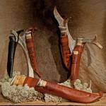 Praktiska och fina knivar från Fjällprodukter i Karesuando.